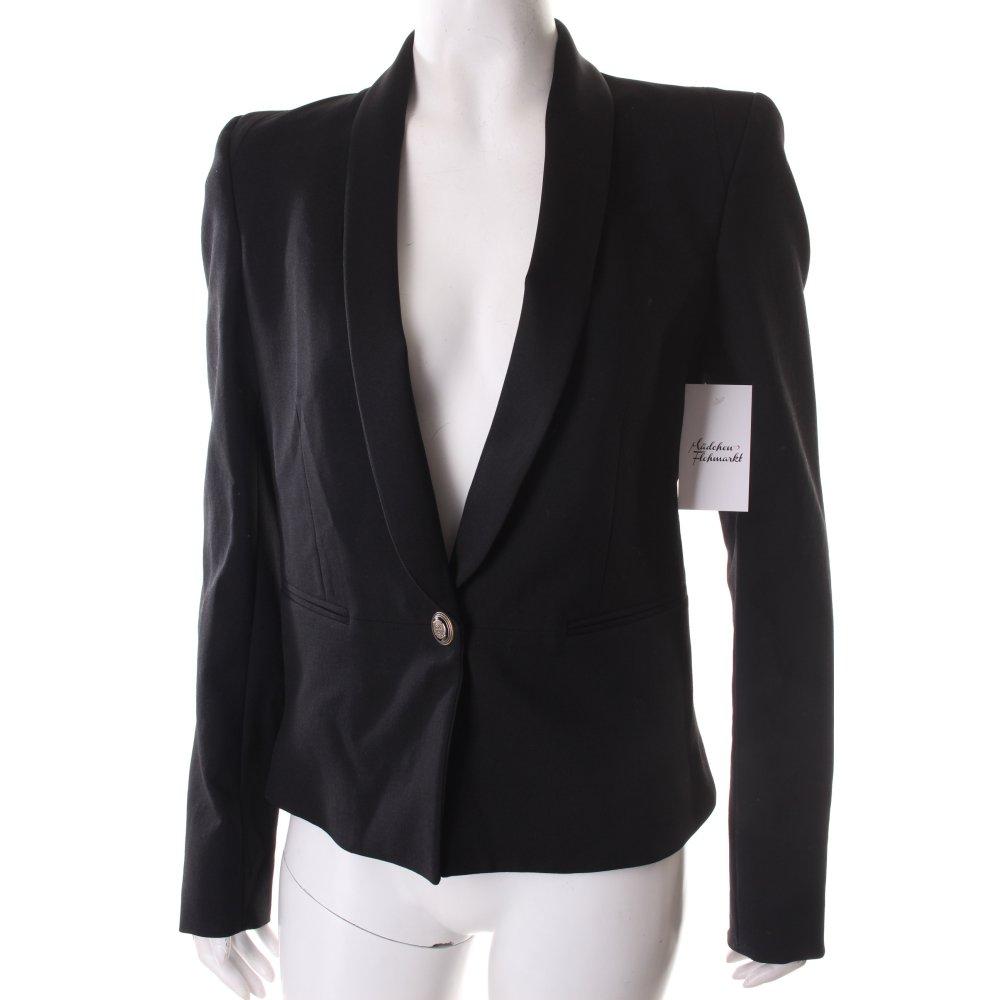 rich royal tuxedo blazer black elegant women s size uk. Black Bedroom Furniture Sets. Home Design Ideas