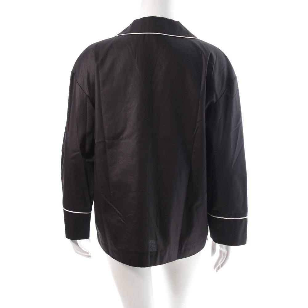 rika blazer wei schwarz minimalistischer stil damen gr de 38 wei. Black Bedroom Furniture Sets. Home Design Ideas