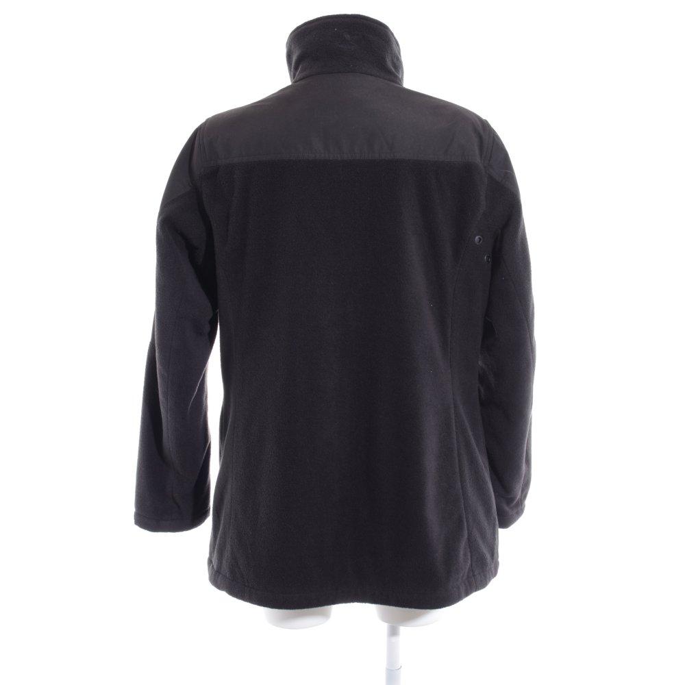 Details zu ROADSIGN AUSTRALIA Fleecejacke schwarz Casual Look Damen Gr. DE 44 Jacke Jacket