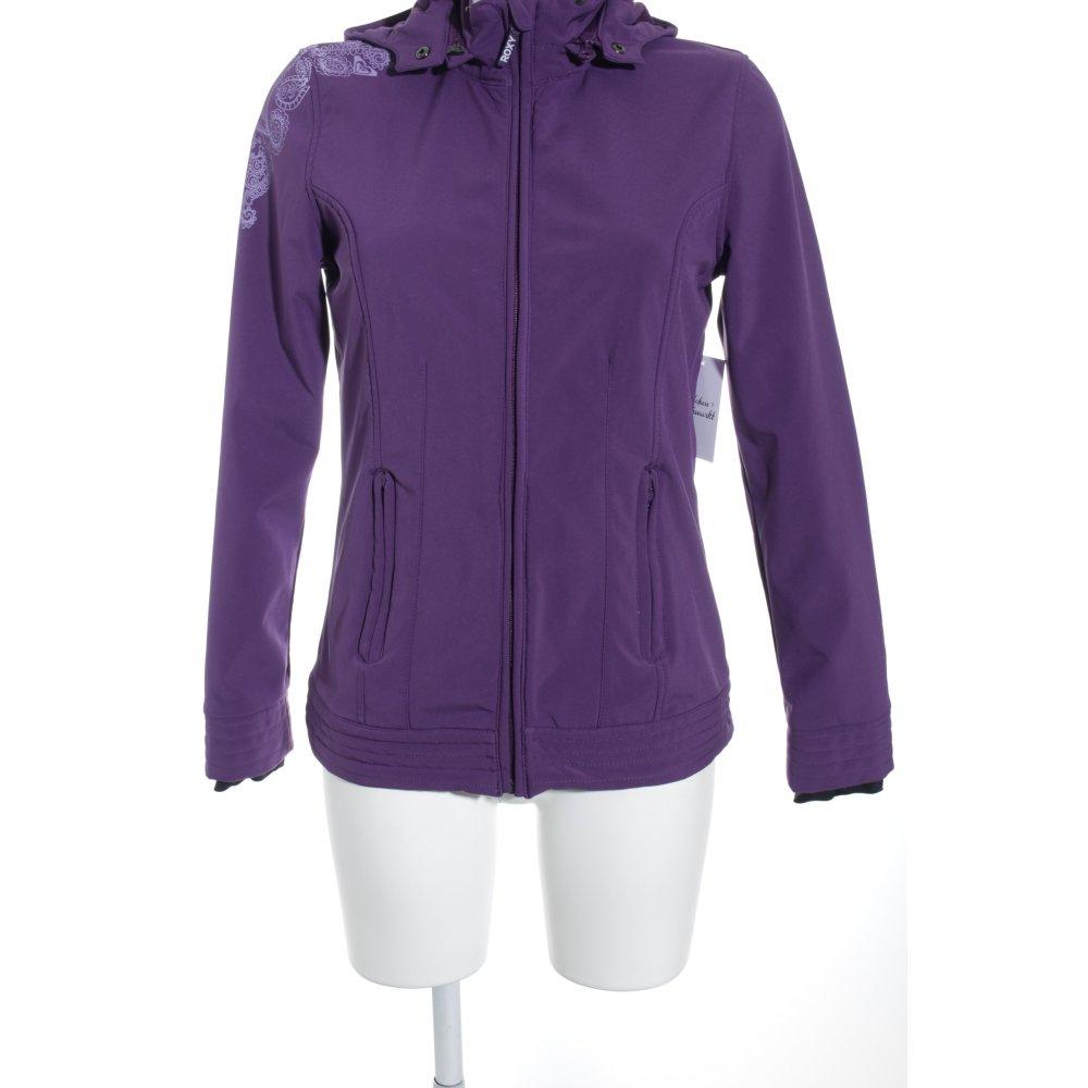Détails sur ROXY Veste d'extérieur violet violet style athlétique Dames T 38