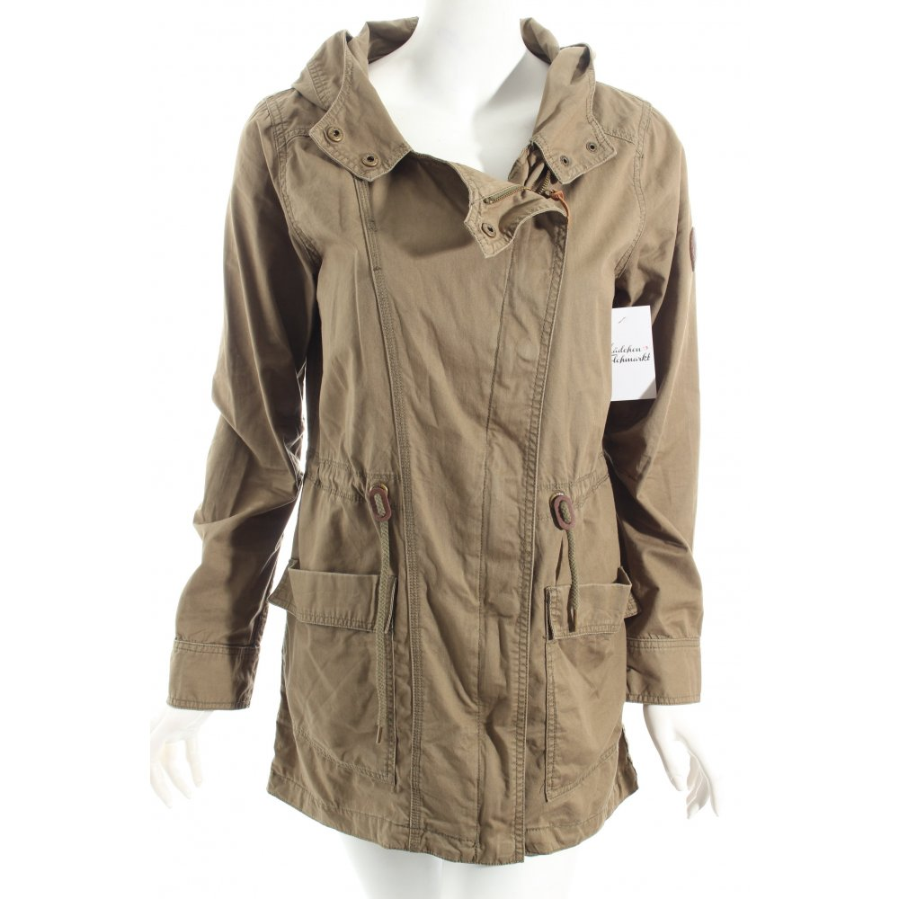 roxy parka khaki casual look damen gr de 38 jacke jacket. Black Bedroom Furniture Sets. Home Design Ideas