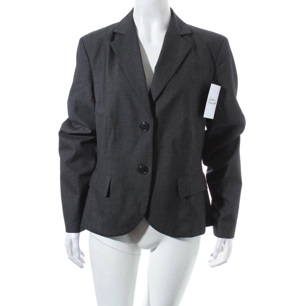 s oliver blazer anthrazit business look damen gr de 40 ebay. Black Bedroom Furniture Sets. Home Design Ideas