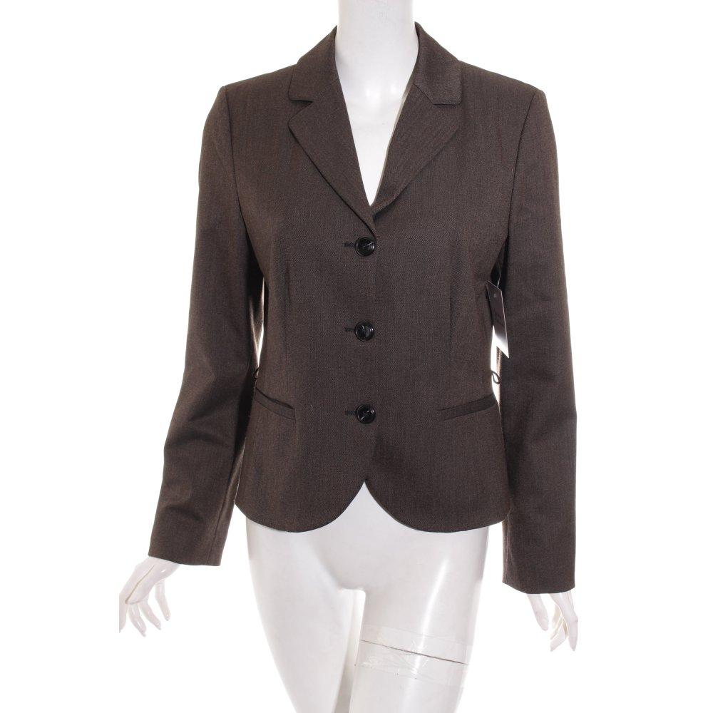 s oliver blazer braun casual look damen gr de 38 ebay. Black Bedroom Furniture Sets. Home Design Ideas