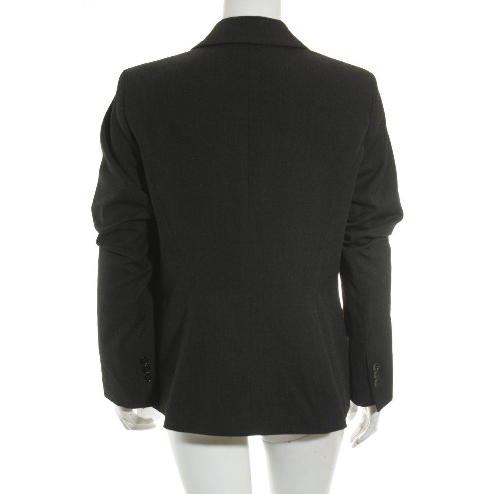s oliver blazer schwarz nadelstreifen business look damen gr de 40 ebay. Black Bedroom Furniture Sets. Home Design Ideas