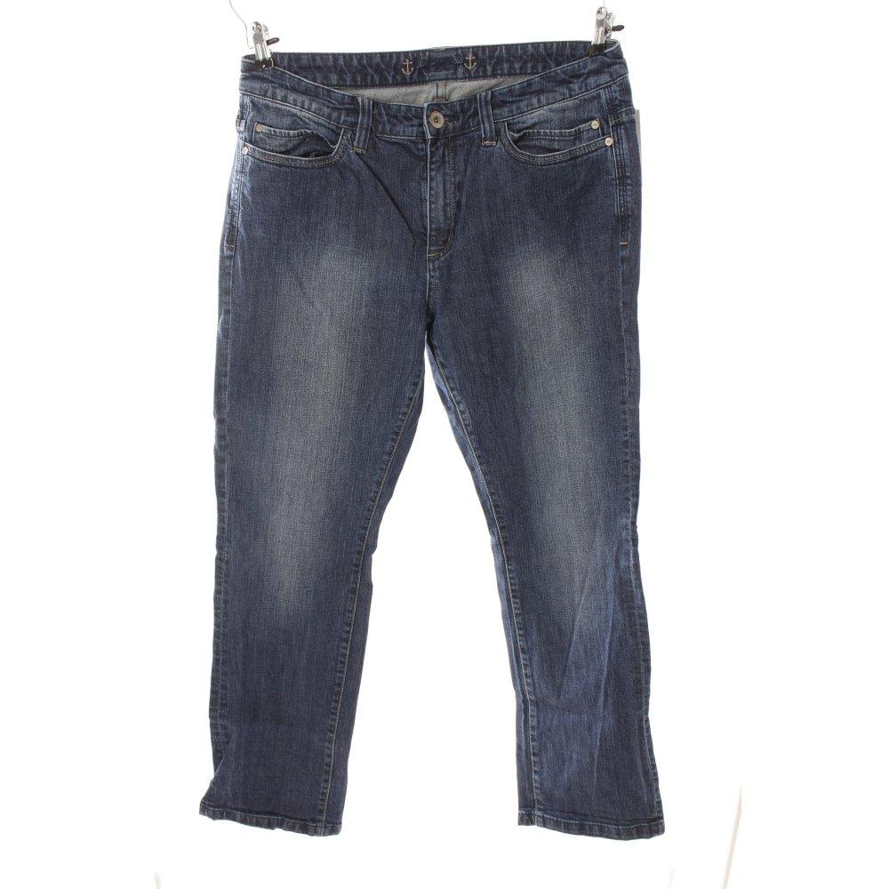 details zu s oliver boot cut jeans blau damen gr de 46. Black Bedroom Furniture Sets. Home Design Ideas