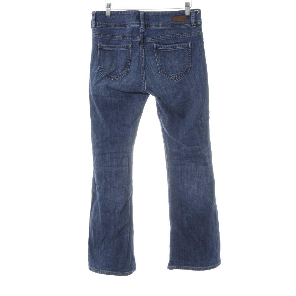 s oliver boot cut jeans blau jeans optik damen gr de 36. Black Bedroom Furniture Sets. Home Design Ideas