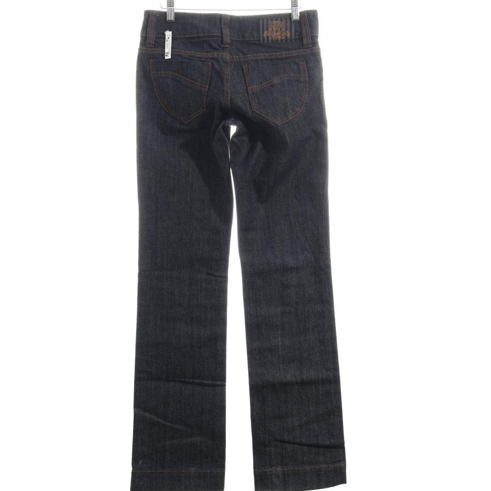 s oliver boot cut jeans dunkelblau casual look damen gr. Black Bedroom Furniture Sets. Home Design Ideas