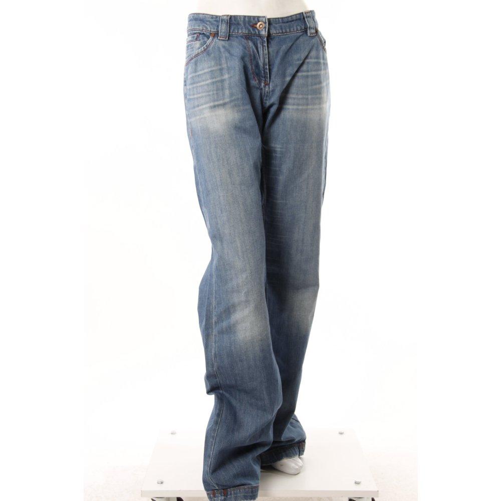 s oliver boot cut jeans hellblau damen gr de 44. Black Bedroom Furniture Sets. Home Design Ideas