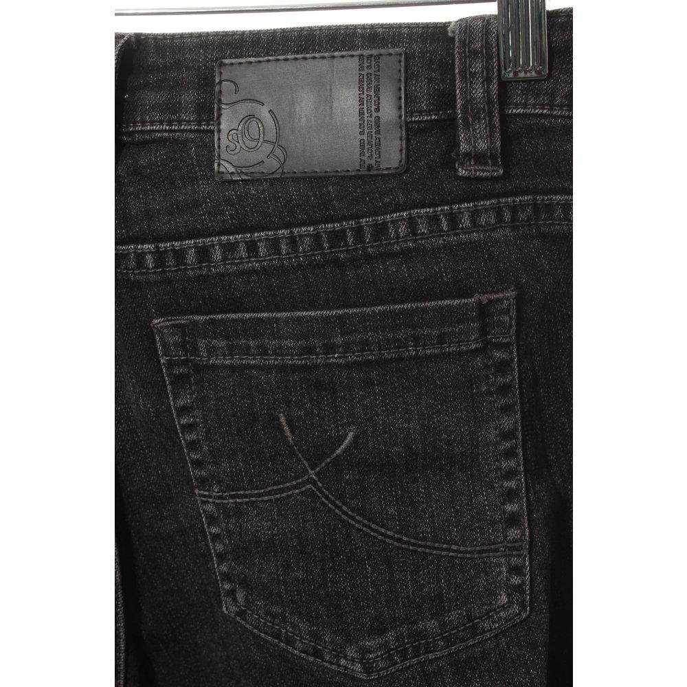 oliver boot cut jeans black street fashion look women s size uk 10. Black Bedroom Furniture Sets. Home Design Ideas