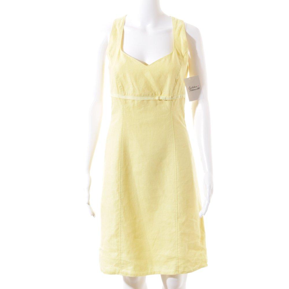 s oliver etuikleid gelb casual look damen gr de 38 kleid. Black Bedroom Furniture Sets. Home Design Ideas