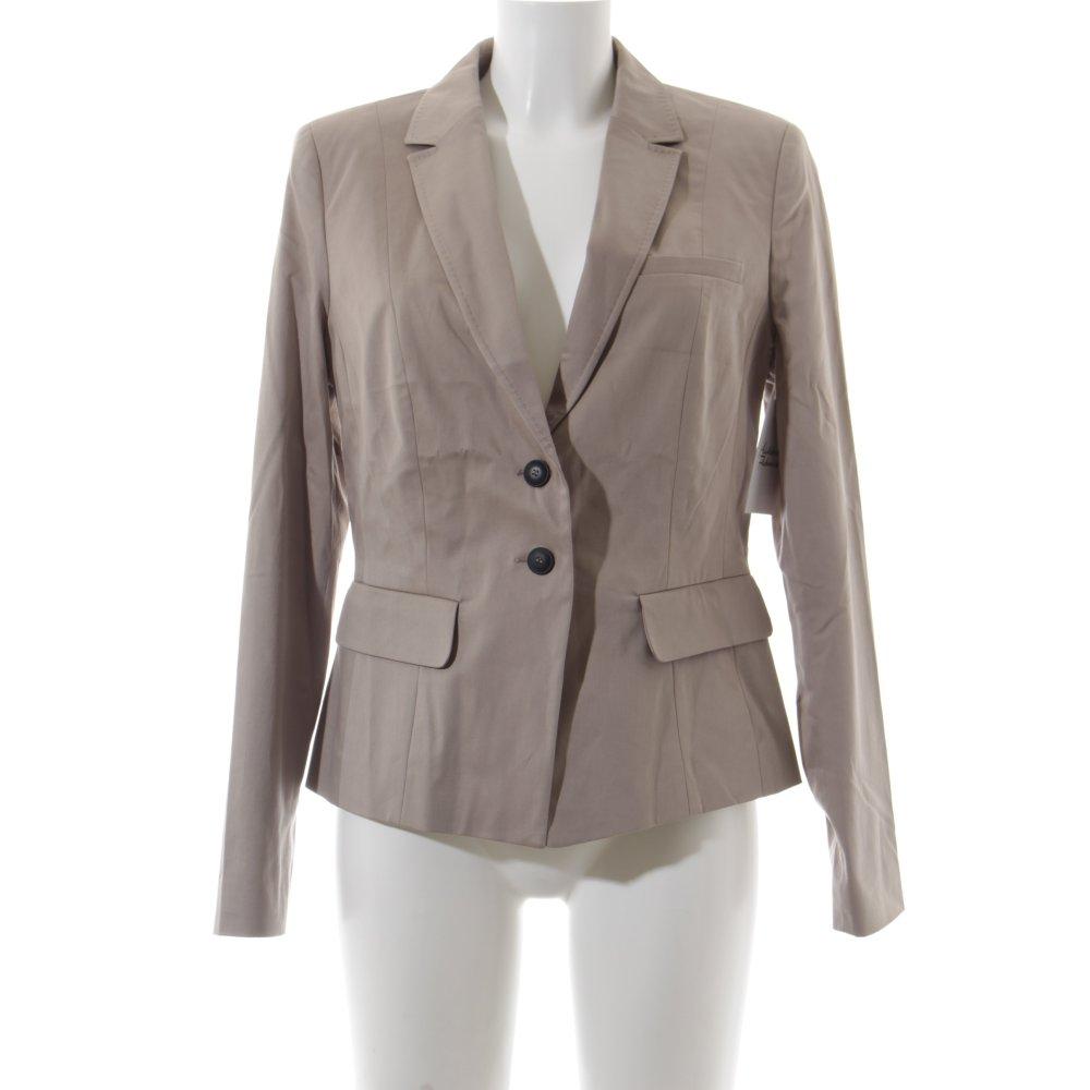 s oliver kurz blazer beige elegant damen gr de 42 short. Black Bedroom Furniture Sets. Home Design Ideas