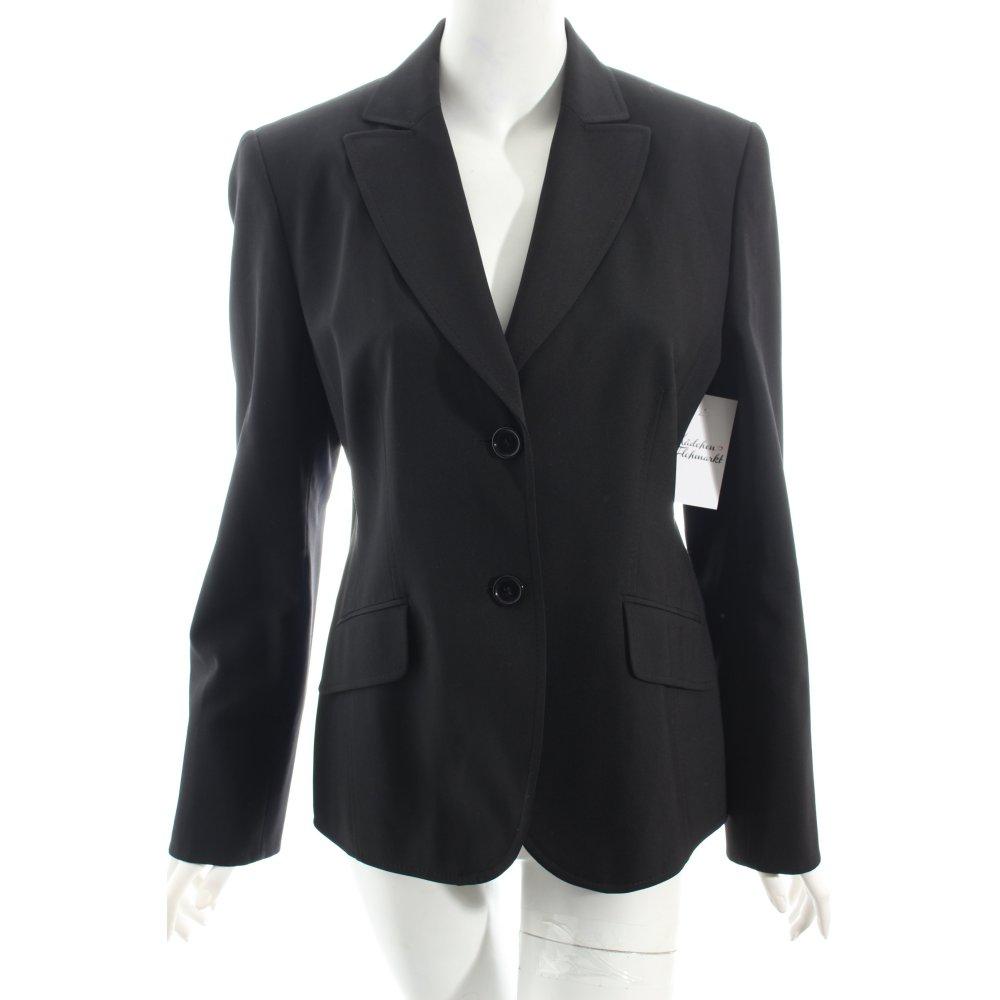 s oliver selection blazer schwarz business look damen gr de 42. Black Bedroom Furniture Sets. Home Design Ideas