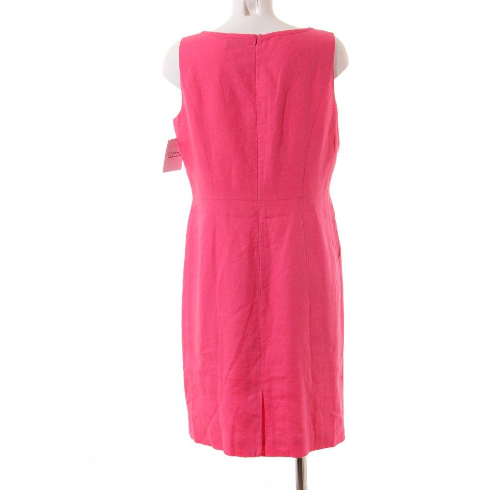 s oliver selection etuikleid pink klassischer stil damen. Black Bedroom Furniture Sets. Home Design Ideas