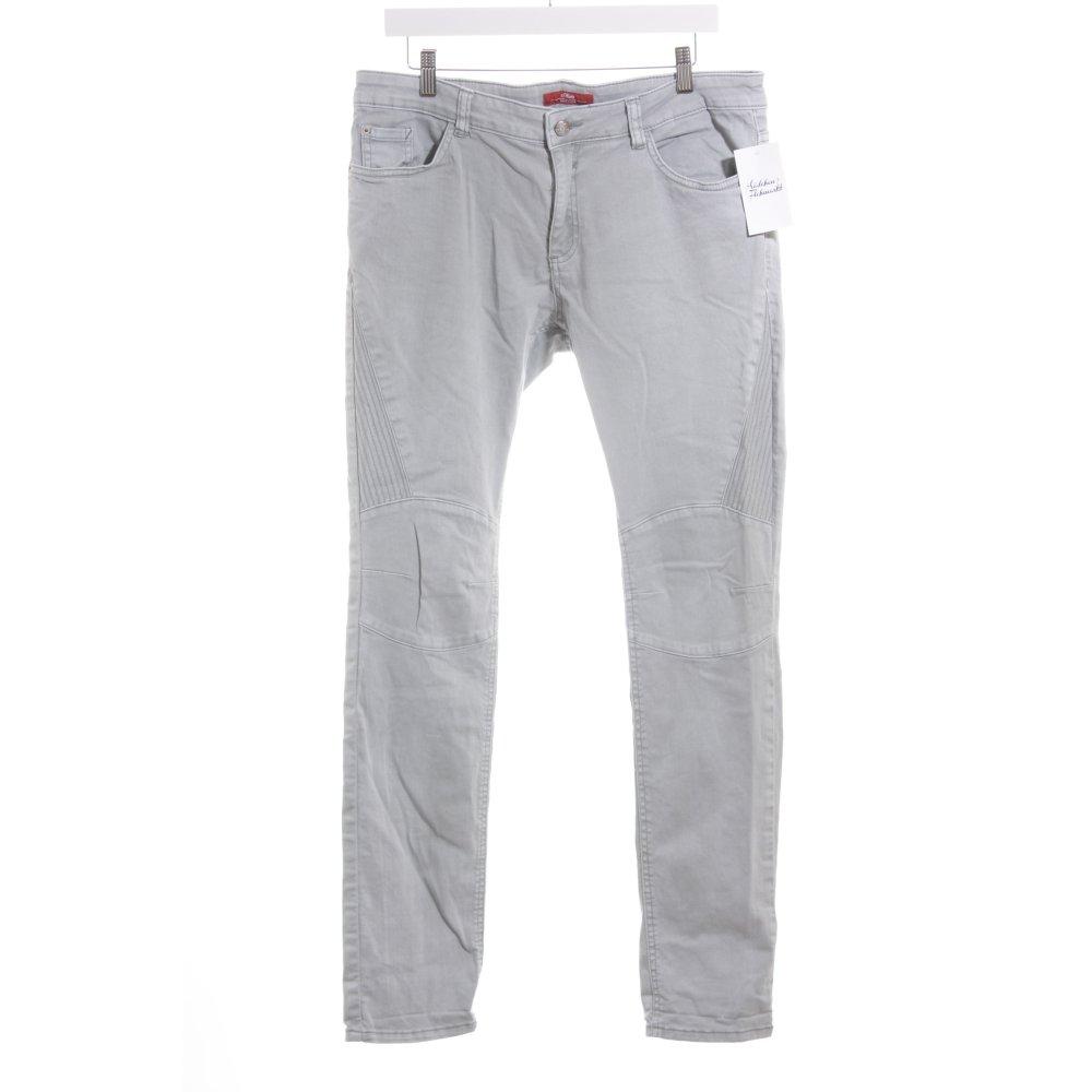 s oliver slim jeans blassblau casual look damen gr de 42. Black Bedroom Furniture Sets. Home Design Ideas