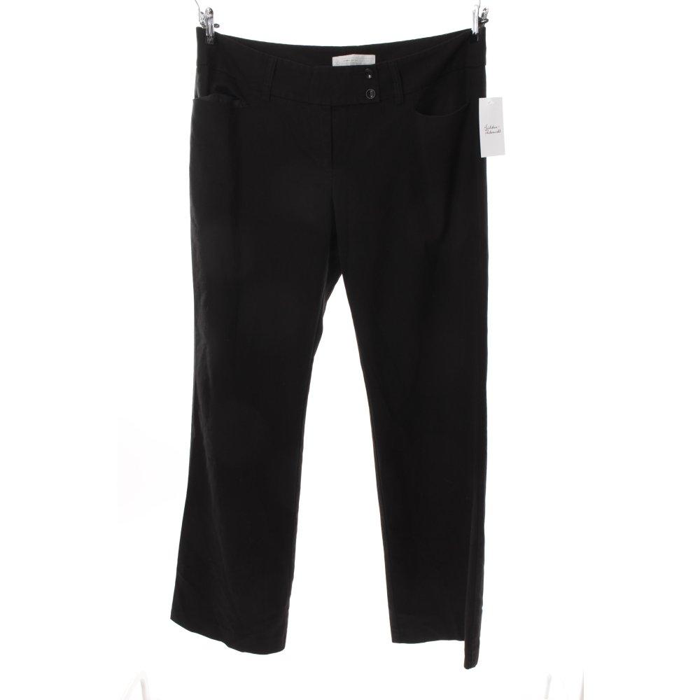 s oliver stoffhose schwarz damen gr de 46 hose trousers. Black Bedroom Furniture Sets. Home Design Ideas