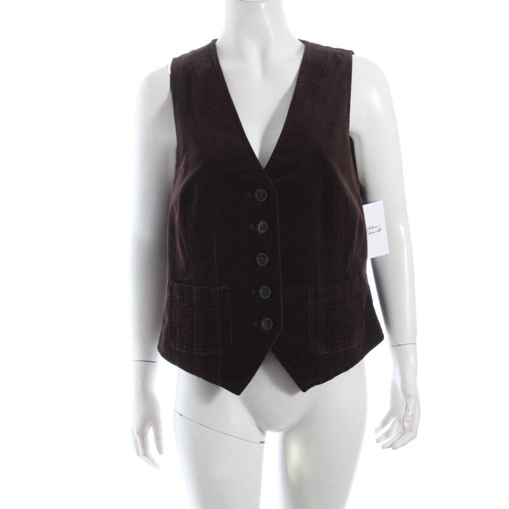 s oliver weste braun casual look damen gr de 42 vest ebay. Black Bedroom Furniture Sets. Home Design Ideas