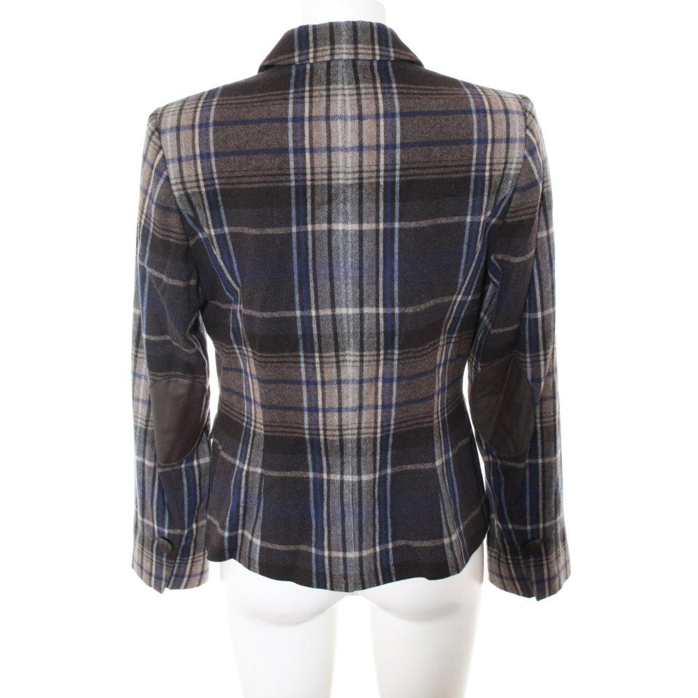 Dettagli su S.OLIVER Giacca di lana grigio stile classico Donna Taglia IT 38
