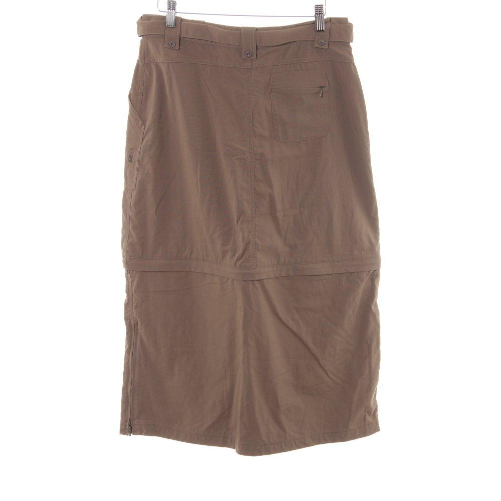 33aae5198 Detalles de SALEWA Falda gitana marrón estilo deportivo Mujeres Talla EU 38