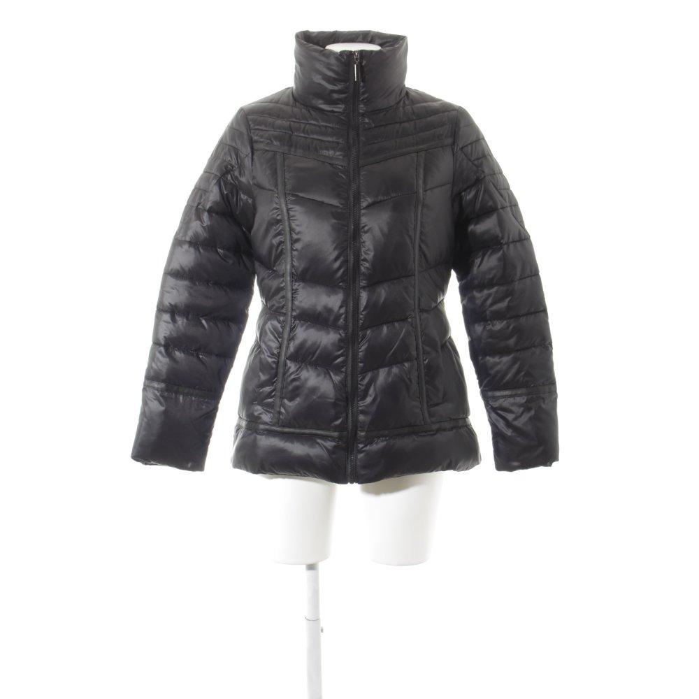 Details zu SARAH KERN Winterjacke schwarz Damen Gr. DE 36 Jacke Jacket Winter Jacket