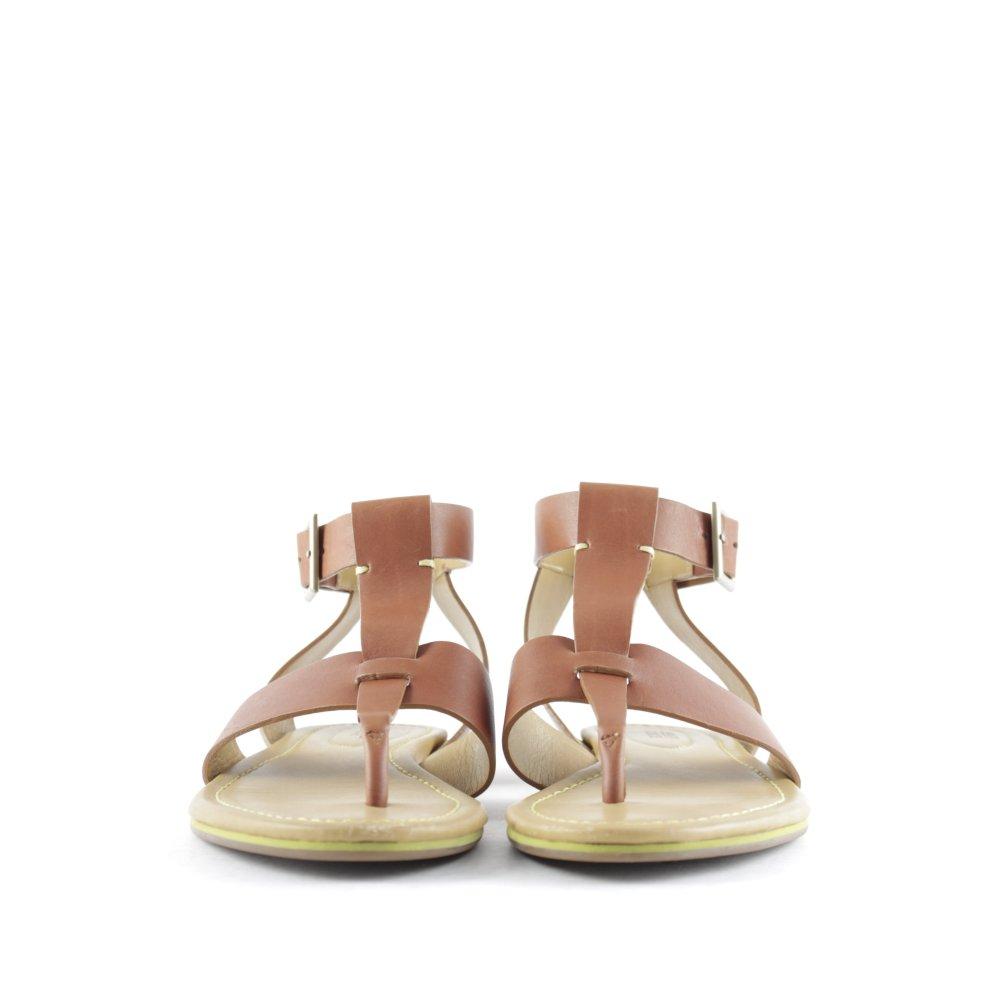 see by chlo r mer sandalen braun casual look damen gr de 38 sandals ebay. Black Bedroom Furniture Sets. Home Design Ideas