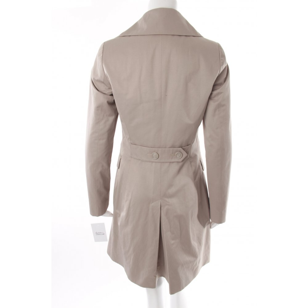 sisley trenchcoat beige damen gr de 36 mantel coat trench coat ebay. Black Bedroom Furniture Sets. Home Design Ideas