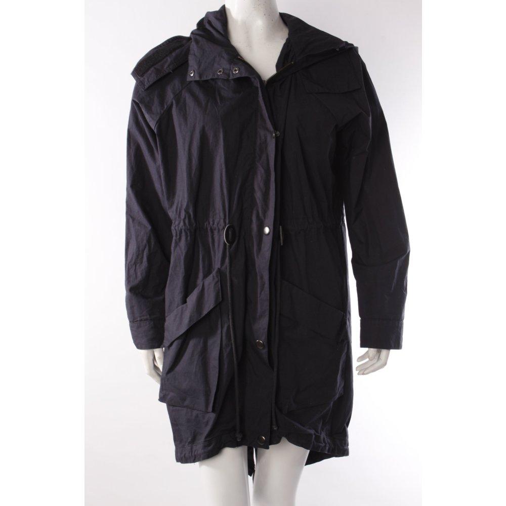 sparkle fade parka dunkelblau damen gr de 36 jacke jacket baumwolle ebay. Black Bedroom Furniture Sets. Home Design Ideas