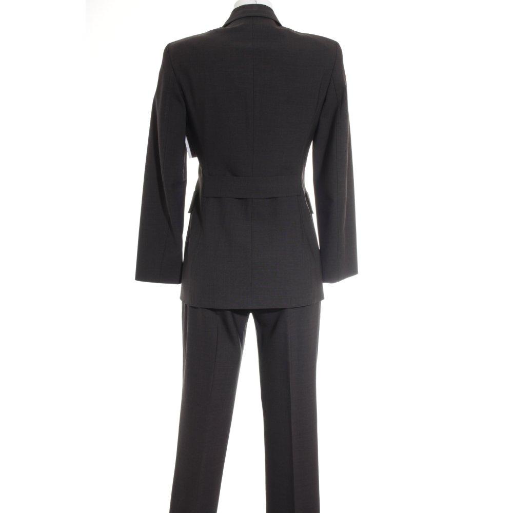 st emile traje para mujer gris antracita look brit mujeres talla eu 34 ebay. Black Bedroom Furniture Sets. Home Design Ideas