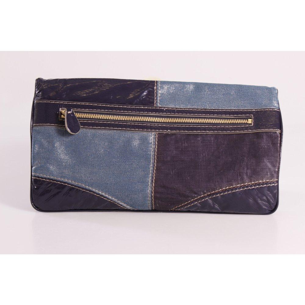 stella mccartney clutch blau damen tasche bag ebay. Black Bedroom Furniture Sets. Home Design Ideas
