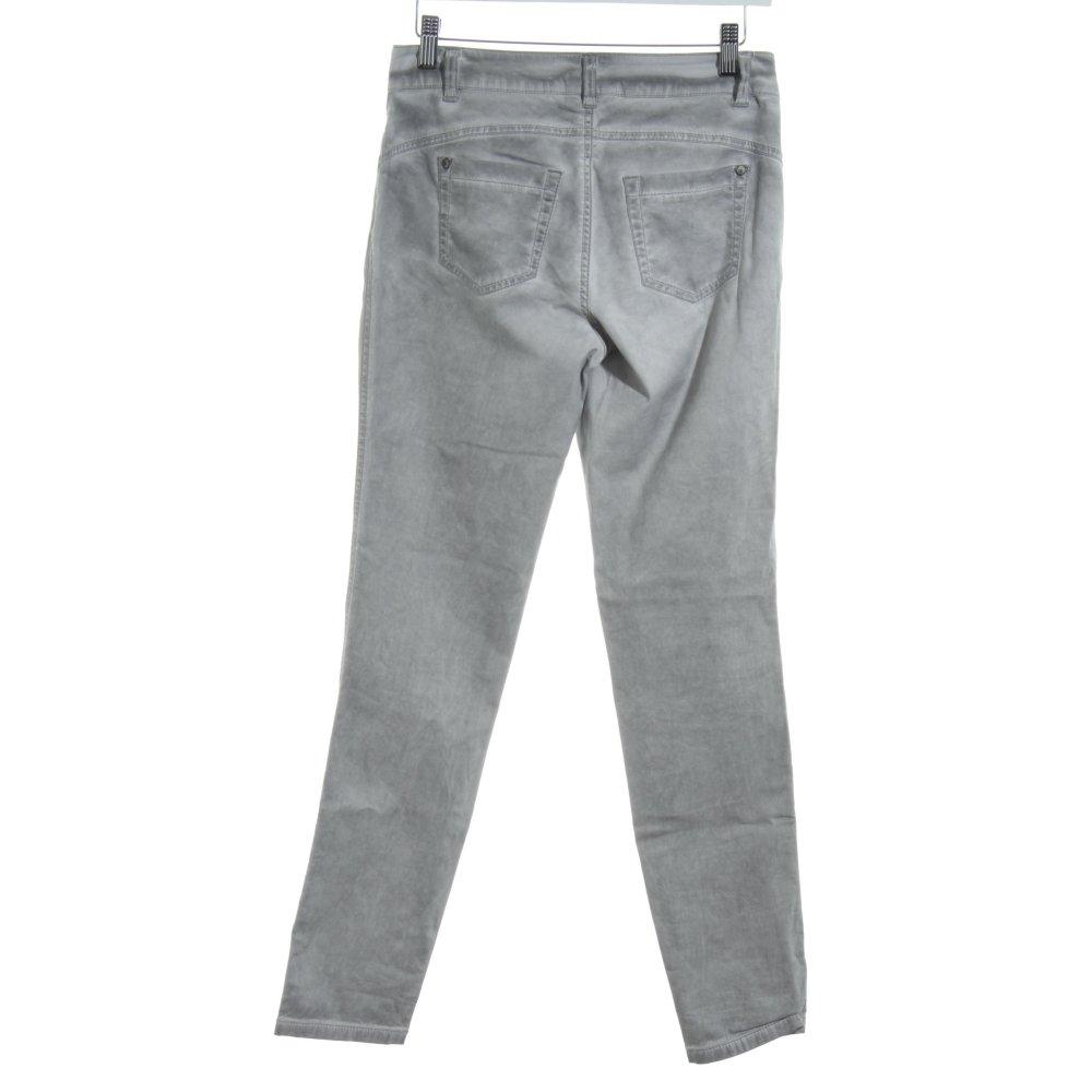 Vita Alta Marrone Jeans Attillati Taglia 6 8 10