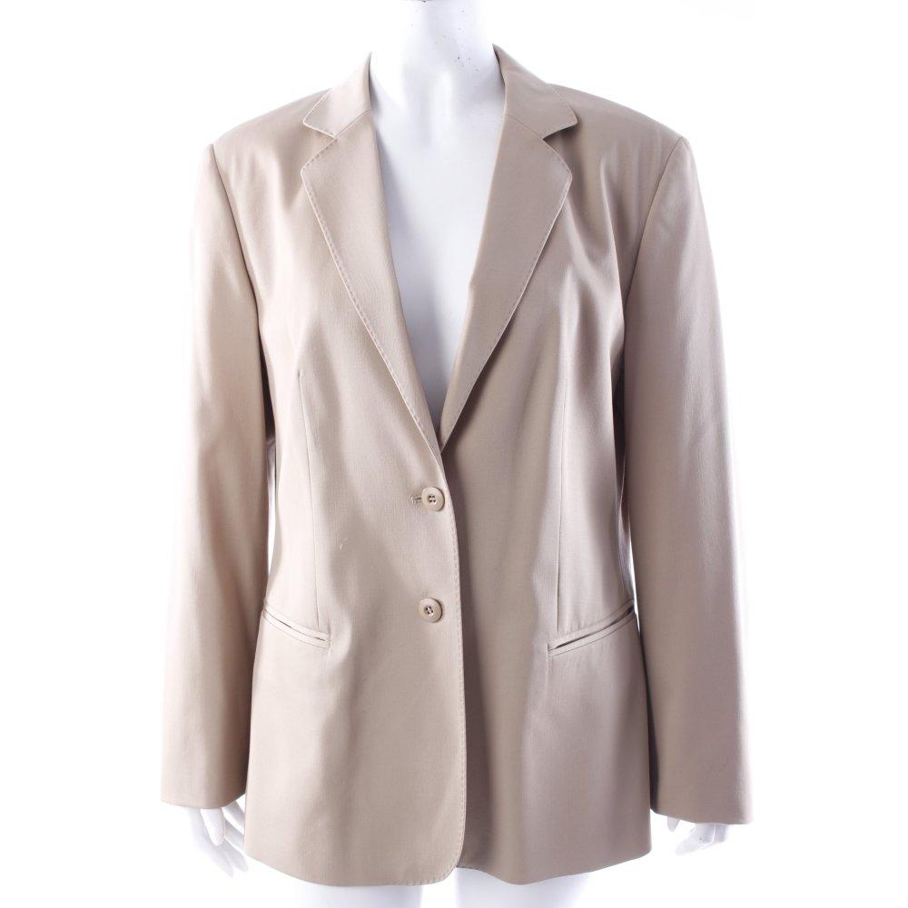 strenesse blazer beige damen gr de 40 smoking blazer. Black Bedroom Furniture Sets. Home Design Ideas
