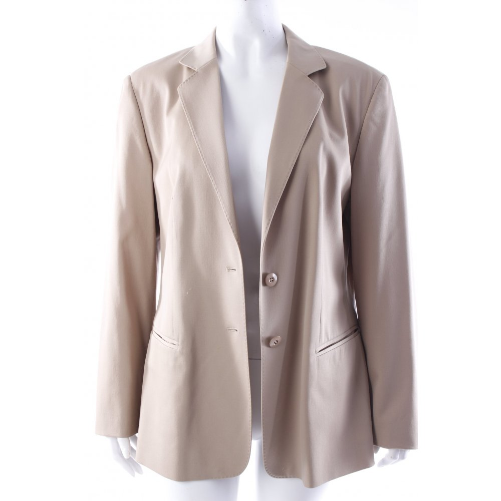 strenesse blazer beige damen gr de 40 smoking blazer tuxedo blazer ebay. Black Bedroom Furniture Sets. Home Design Ideas