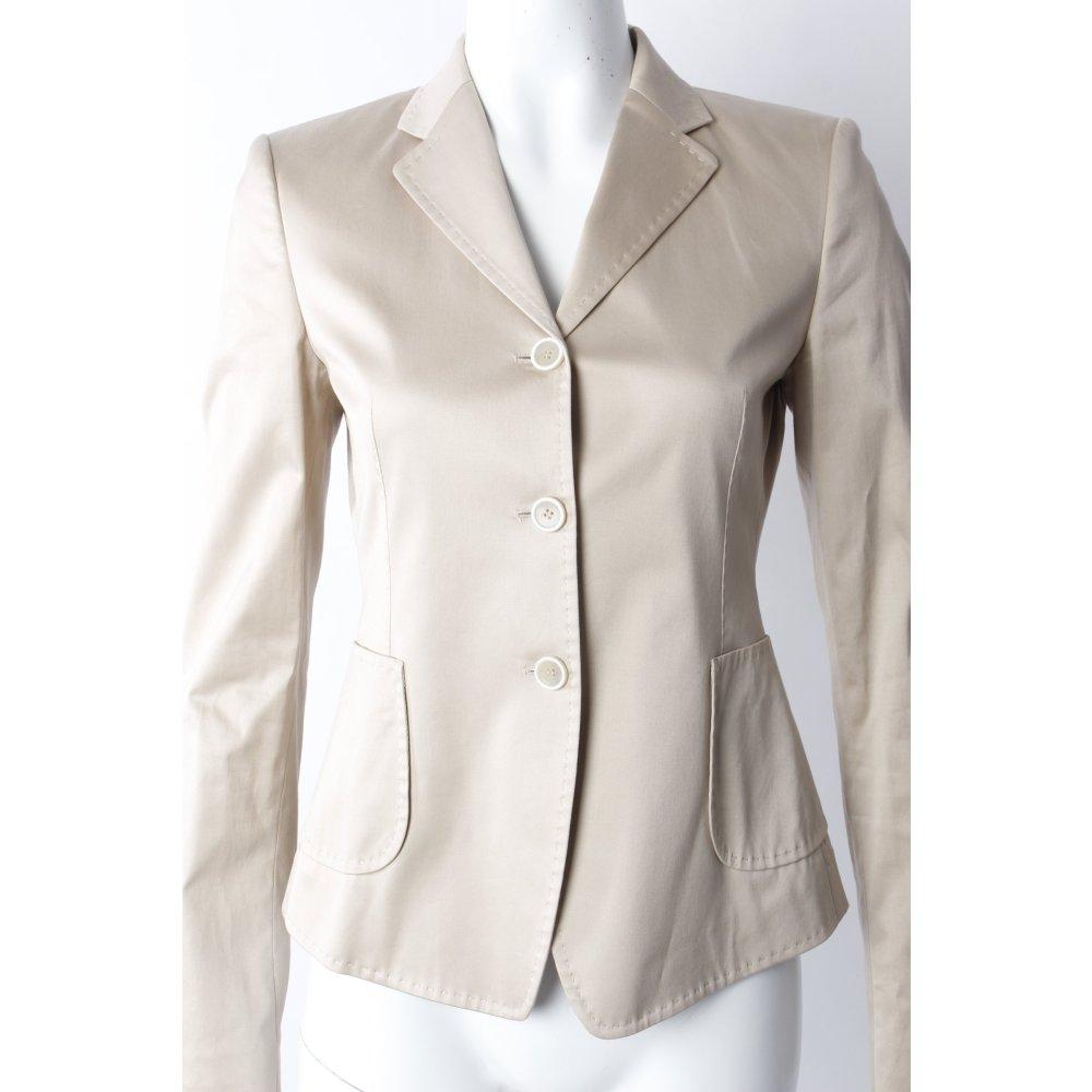 strenesse blazer beige damen gr de 34 baumwolle ebay. Black Bedroom Furniture Sets. Home Design Ideas