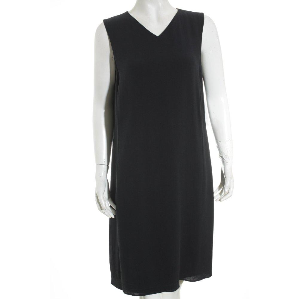 strenesse etuikleid dunkelblau business look damen gr de 44 kleid dress seide ebay. Black Bedroom Furniture Sets. Home Design Ideas