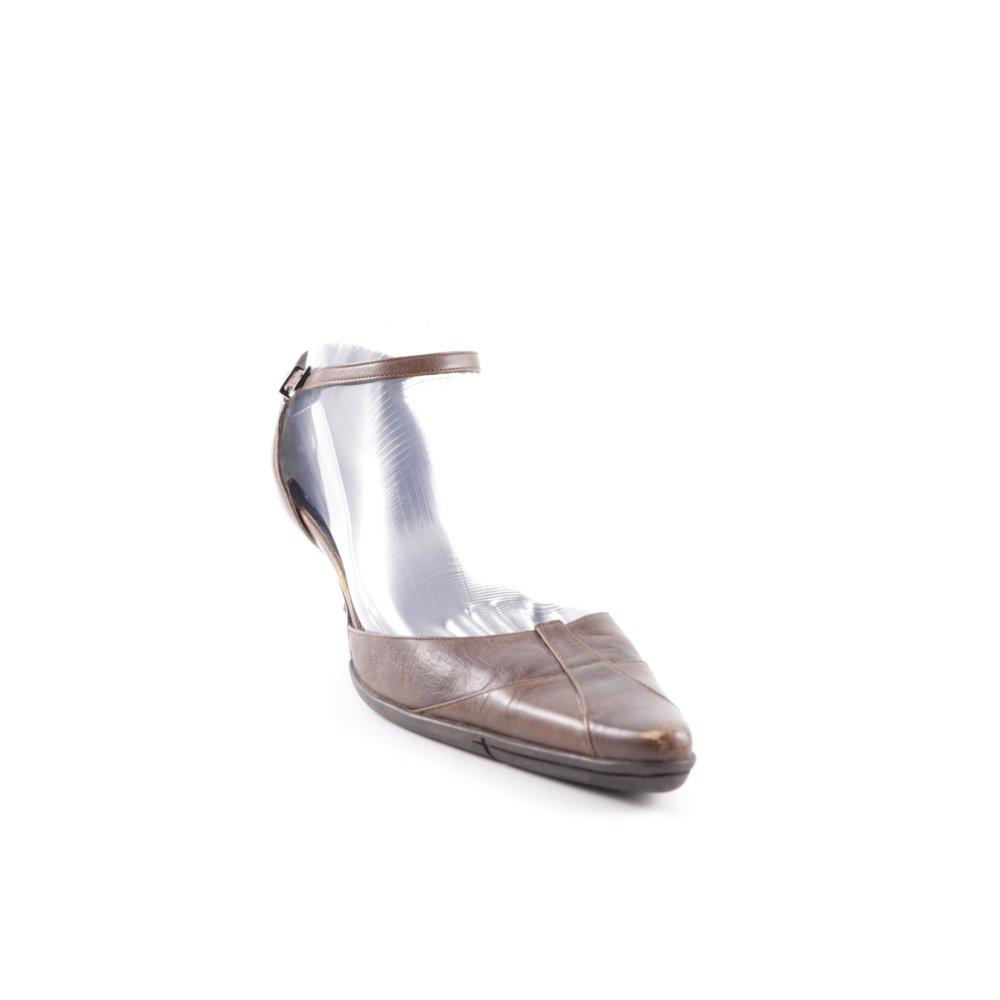 STRENESSE GABRIELE STREHLE Sandalo con cinturino e tacco alto marrone Donna