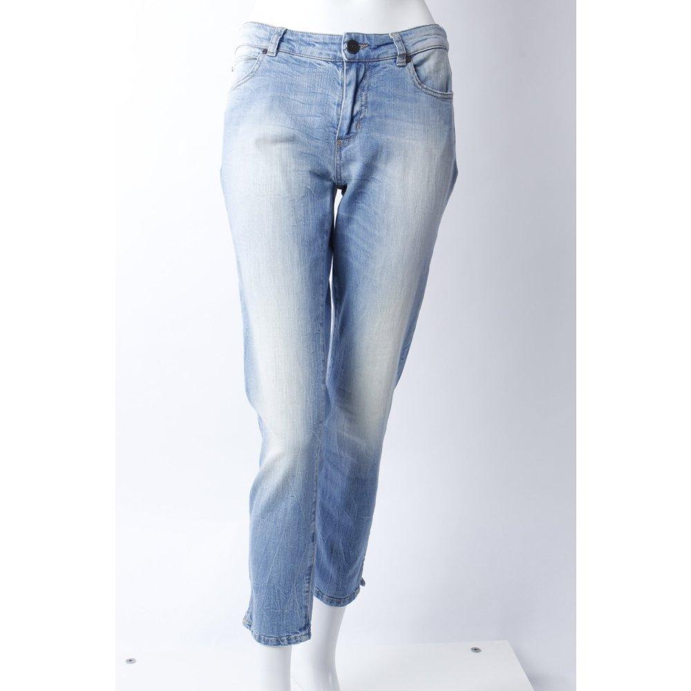strenesse skinny jeans helle waschung damen gr de 36. Black Bedroom Furniture Sets. Home Design Ideas