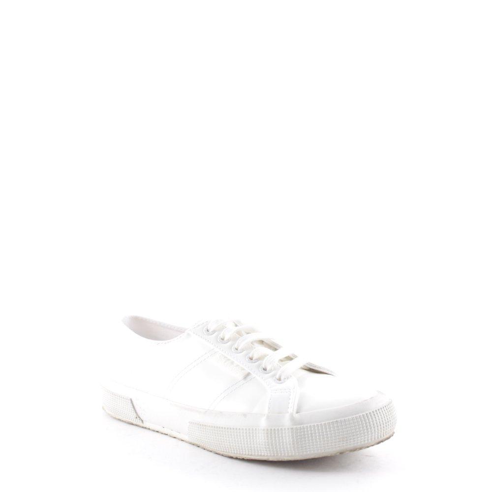 SUPERGA PER CARO DAUR Scarpa stringata bianco stile casual Donna Taglia IT 39