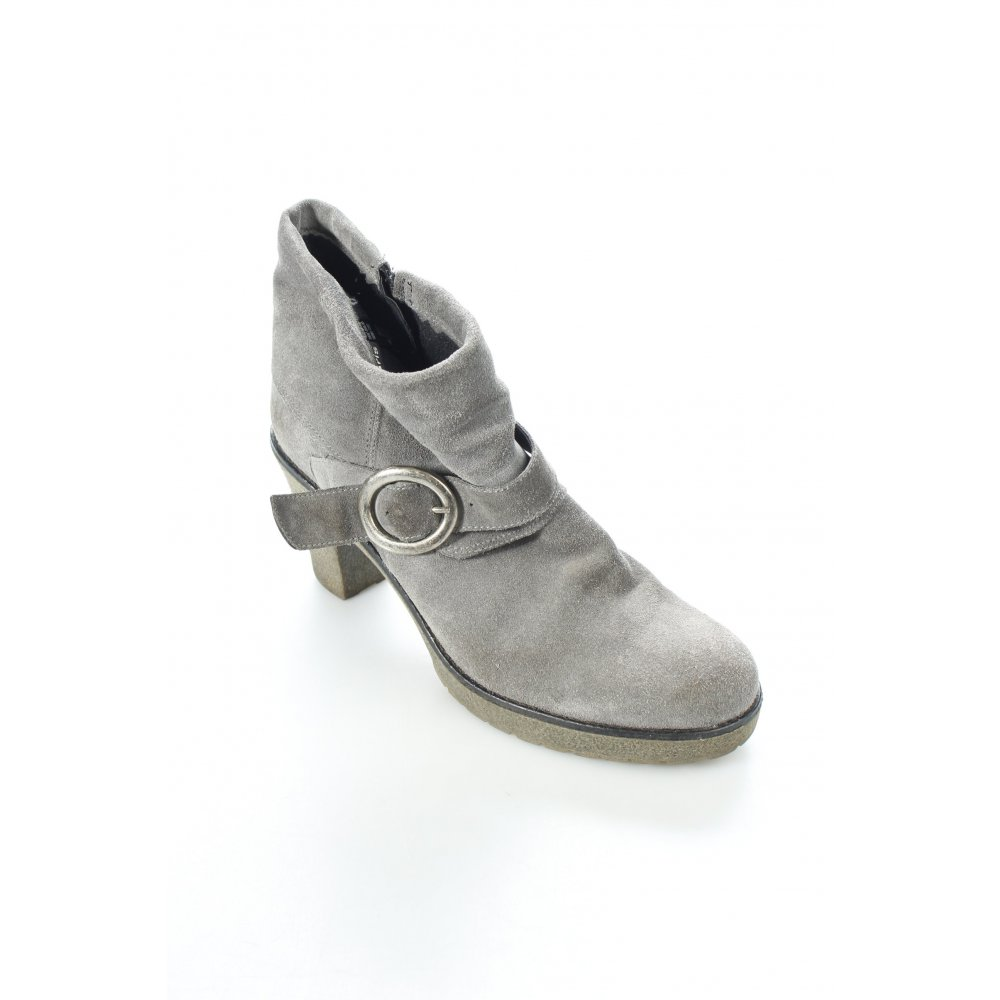 tamaris ankle boots grau casual look damen gr de 41. Black Bedroom Furniture Sets. Home Design Ideas