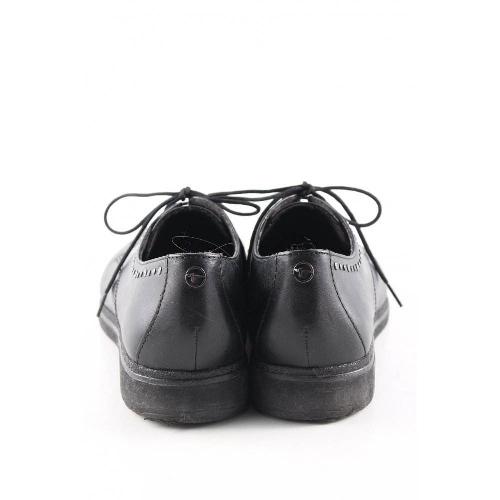 Détails sur TAMARIS Chaussure Oxford noir style d'affaires Dames T 37 Chaussure de travail