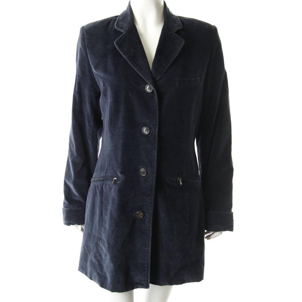 tandem long blazer dunkelblau vintage artikel damen gr de 38 baumwolle ebay. Black Bedroom Furniture Sets. Home Design Ideas
