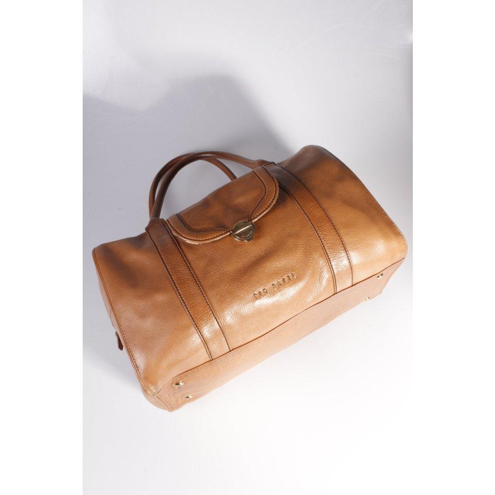 ted baker handtasche karamellfarben damen braun tasche bag. Black Bedroom Furniture Sets. Home Design Ideas