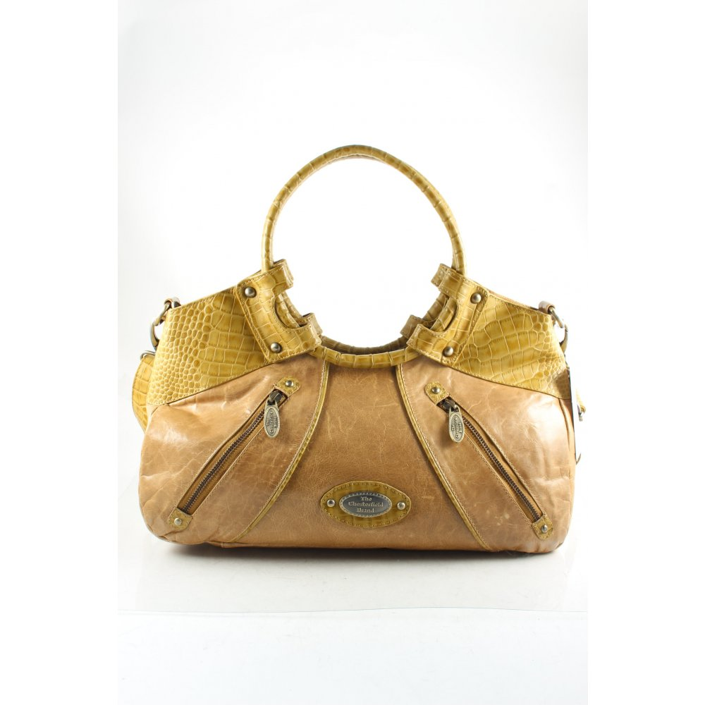 The chesterfield brand carry bag dark yellow casual look for Decor jewelry chesterfield