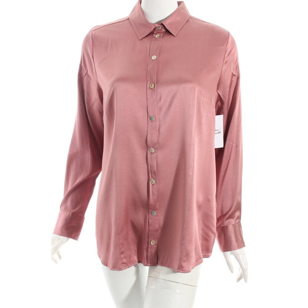 the mercer ny seidenbluse rosa eleganz look damen gr de 44 bluse blouse ebay. Black Bedroom Furniture Sets. Home Design Ideas