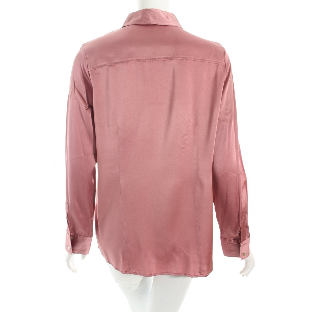 the mercer ny blusa in seta rosa elegante donna taglia it 48 camicetta a blusa ebay. Black Bedroom Furniture Sets. Home Design Ideas