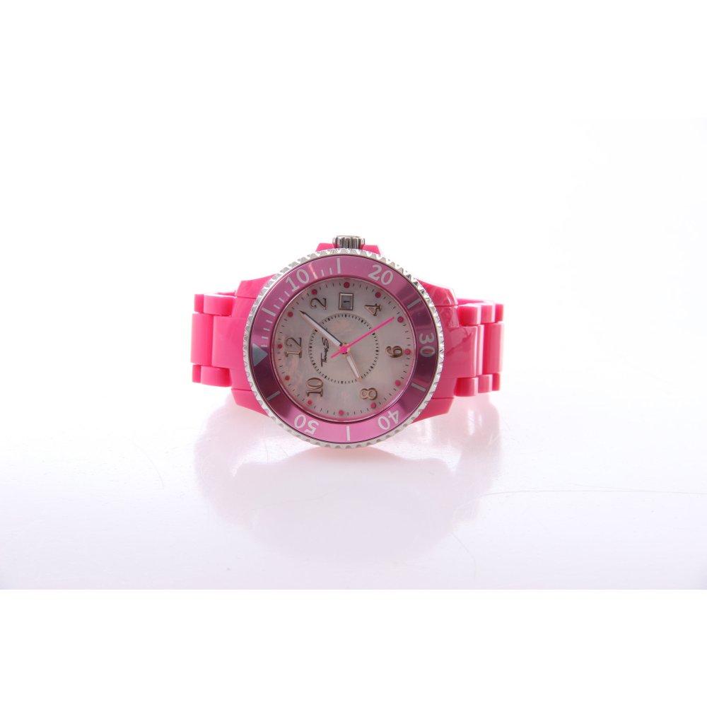 thomas sabo uhr pink damen watches ebay. Black Bedroom Furniture Sets. Home Design Ideas