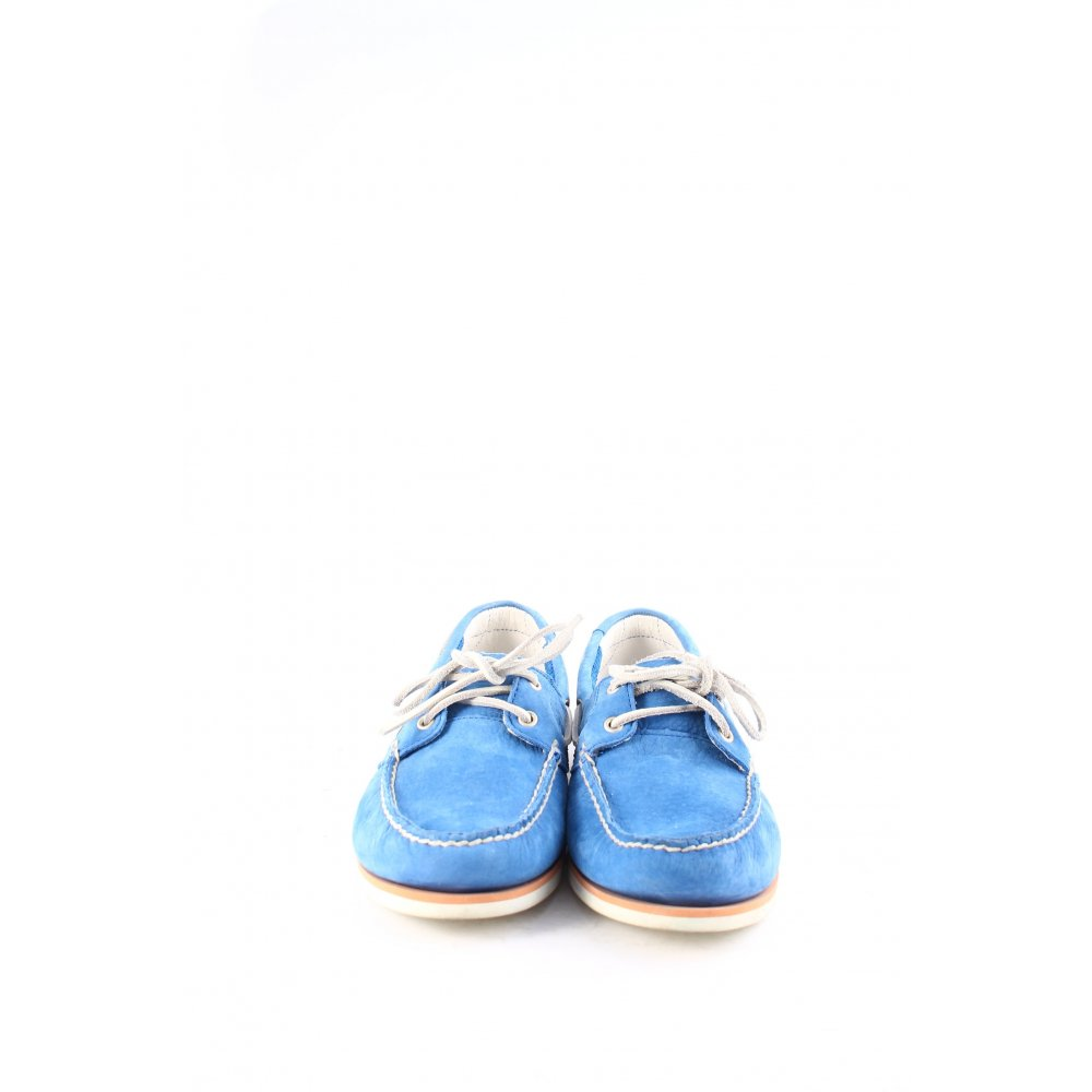 Timberland segelschuhe blau wei klassischer stil damen gr for Klassischer stil
