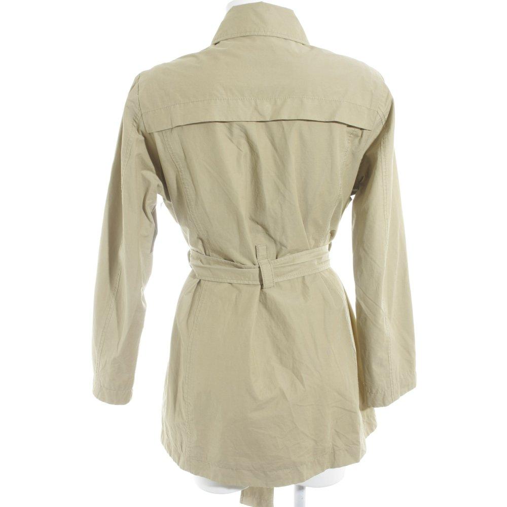 Detalles de TIMBERLAND Gabardina verde pálido look casual Mujeres Talla EU 42 Abrigo