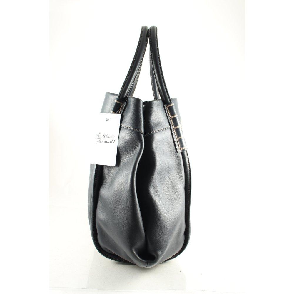 tod s handtasche dunkelblau street fashion look damen. Black Bedroom Furniture Sets. Home Design Ideas