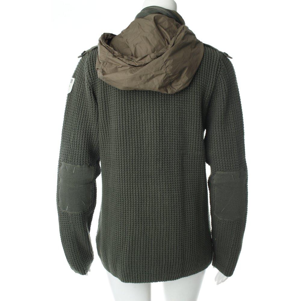 tom tailor strickjacke gr ngrau sportlicher stil damen gr de 40 knitwear ebay. Black Bedroom Furniture Sets. Home Design Ideas