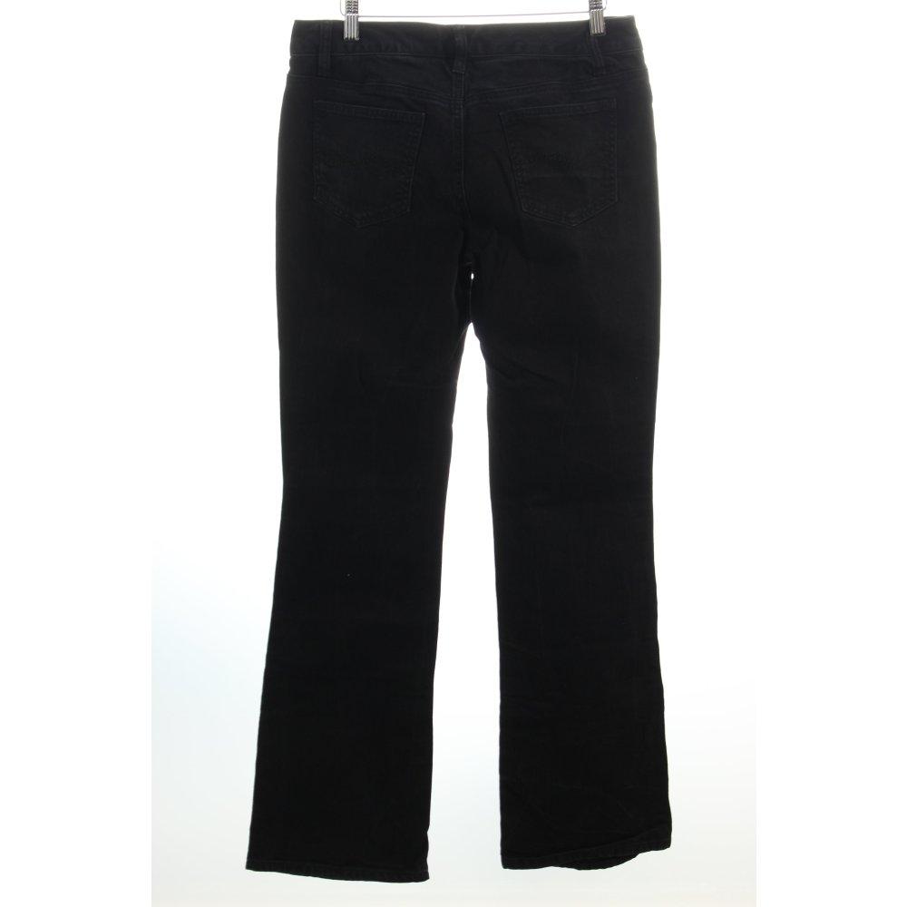tommy hilfiger boot cut jeans black casual look women s. Black Bedroom Furniture Sets. Home Design Ideas