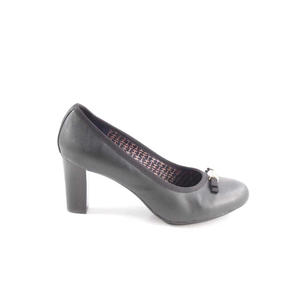 uk availability a734f 4291c TOMMY HILFIGER High Heels schwarz Business-Look Damen Gr. DE ...